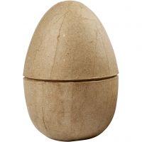 Tvådelat ägg, H: 12 cm, Dia. 9 cm, 1 st.