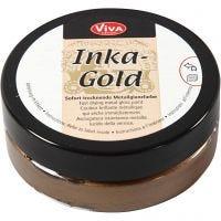 Inka Gold, brown gold, 50 ml/ 1 burk