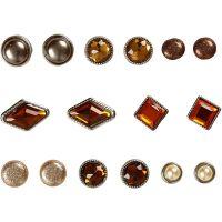 Brads, stl. 8-18 mm, brun, 16 st./ 1 förp.