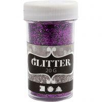 Glitter, lila, 20 g/ 1 burk