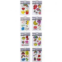 Soft Stickers, 12,2x17,75 cm, 8x10 ark/ 1 förp.