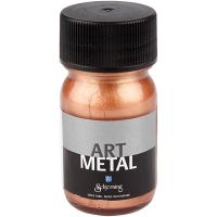 Art Metal färg, koppar, 30 ml/ 1 flaska