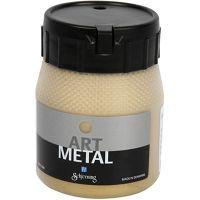 Art Metal färg, ljusguld, 250 ml/ 1 flaska
