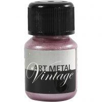Art Metal färg, pärlröd, 30 ml/ 1 flaska
