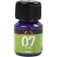A-Color Glas, rödviolett, 30 ml/ 1 flaska