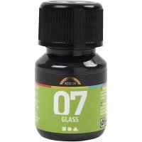 A-Color Glas, svart, 30 ml/ 1 flaska