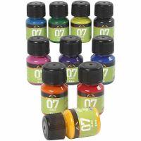 A-Color Glas, mixade färger, 10x30 ml/ 1 förp.