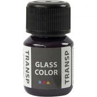 Glasfärg transparent, violet, 30 ml/ 1 flaska