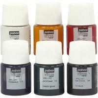 Vitrea 160 glasfärg, mixade färger, 6x20 ml/ 1 förp.