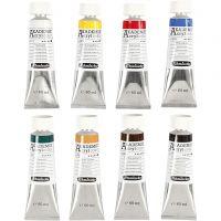 Schmincke AKADEMIE® Acryl color, 8x60 ml/ 1 förp.
