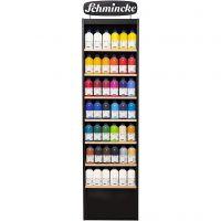 Schmincke AKADEMIE® Acryl color , mixade färger, 118x500 ml/ 1 förp.