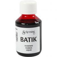 Batikfärg, rosa, 100 ml/ 1 flaska