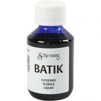 Batikfärg, briljantblå, 100 ml/ 1 flaska