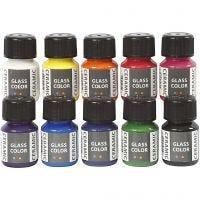 Ceramic, sortiment, mixade färger, 10x35 ml/ 1 förp.