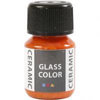 Glass Ceramic, orange, 35 ml/ 1 flaska