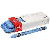 Neocolor I, L: 10 cm, tjocklek 8 mm, light blue (161), 10 st./ 1 förp.