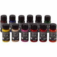 Textile Color textilfärg, 12x50 ml/ 1 förp.