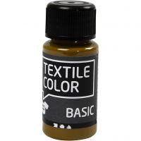 Textile Color textilfärg, olivbrun, 50 ml/ 1 flaska