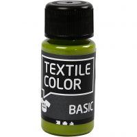 Textile Color textilfärg, kiwi, 50 ml/ 1 flaska