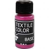 Textile Color textilfärg, rosa, 50 ml/ 1 flaska