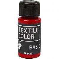 Textile Color textilfärg, röd, 50 ml/ 1 flaska