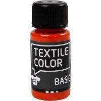Textile Color textilfärg, orange, 50 ml/ 1 flaska