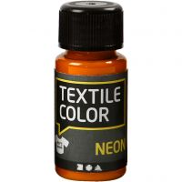 Textile Color textilfärg, neonorange, 50 ml/ 1 flaska