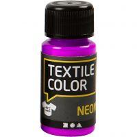 Textile Color textilfärg, neonlila, 50 ml/ 1 flaska