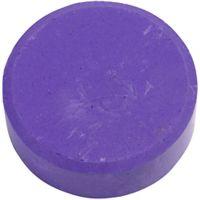 Vattenfärg, H: 16 mm, Dia. 44 mm, lila, 6 st./ 1 förp.