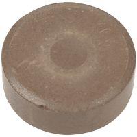 Vattenfärg, H: 16 mm, Dia. 44 mm, brun, 6 st./ 1 förp.