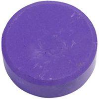 Vattenfärg, H: 19 mm, Dia. 57 mm, lila, 6 st./ 1 förp.