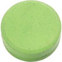 Vattenfärg, H: 19 mm, Dia. 57 mm, grön, 6 st./ 1 förp.