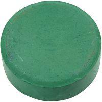 Vattenfärg, H: 19 mm, Dia. 57 mm, mörkgrön, 6 st./ 1 förp.