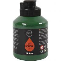 Pigment Art School, semi transparent, mörkgrön, 500 ml/ 1 flaska