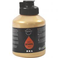 Pigment Art School, täckande, guld, 500 ml/ 1 flaska