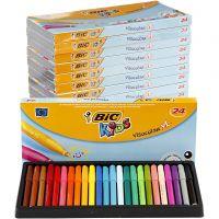 Visa Color tusch, spets 3 mm, mixade färger, 12x24 st./ 1 förp.