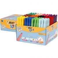 Visa Color tusch, spets 3 mm, mixade färger, 12x12 st./ 1 förp.