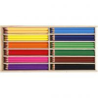 Färgpennor, kärna 3 mm, mixade färger, 144 st./ 1 förp.