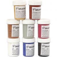 Paver Color, 8x40 ml/ 1 förp.