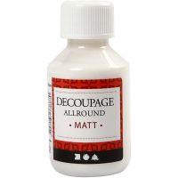 Decoupagelack, matt, 100 ml/ 1 flaska