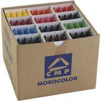 PRIMO vaxkritor, mixade färger, 24x12 st./ 1 förp.