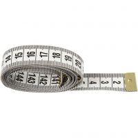 Måttband, L: 150 cm, 6 st./ 1 förp.