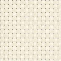 Aida broderiväv, stl. 50x50 cm, 35 rutor per 10 cm, råvit, 1 st.
