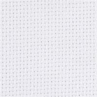 Aidatyg, stl. 50x50 cm, 70 rutor per 10 cm, vit, 1 st.