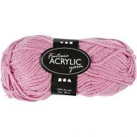 Fantasia Akrylgarn, L: 80 m, rosa, 50 g/ 1 nystan