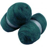 Kardad ull, grön, 2x100 g/ 1 förp.