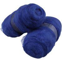 Kardad ull, kungsblå, 2x100 g/ 1 förp.
