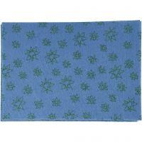 Hobbyfilt, A4, 210x297 mm, tjocklek 1 mm, blå, 10 ark/ 1 förp.