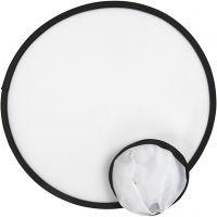 Frisbee, Dia. 25 cm, vit, 5 st./ 1 förp.