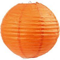 Papperslampa, Dia. 20 cm, orange, 1 st.